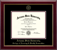 Arizona State University Diploma Frame - Gold Embossed Diploma Frame in Gallery