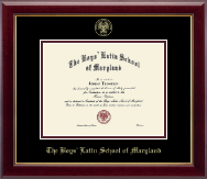 The Boys' Latin School of Maryland Diploma Frame - Gold Embossed Diploma Frame in Gallery