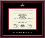 Pennsylvania State University Diploma Frame - Gold Embossed Diploma Frame in Gallery