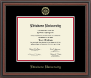 Edinboro University Diploma Frame - Gold Embossed Diploma Frame in Regency
