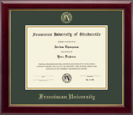 Franciscan University of Steubenville Diploma Frame - Embossed Diploma Frame in Gallery