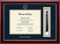 Hiram College Diploma Frame - Tassel Edition Diploma Frame in Gallery