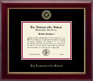 The Lawrenceville Prep School Diploma Frame - Gold Embossed Diploma Frame in Gallery