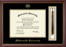 Millersville University of Pennsylvania Diploma Frame - Tassel Edition Diploma Frame in Newport