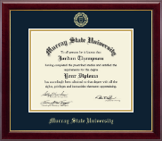 Murray State University Diploma Frame - Gold Embossed Diploma Frame in Gallery