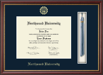 Northwood University in Michigan Diploma Frame - Tassel Edition Diploma Frame in Newport