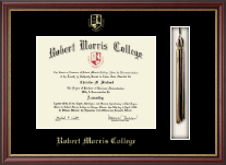 Robert Morris College in Illinois Diploma Frame - Tassel Edition in Newport