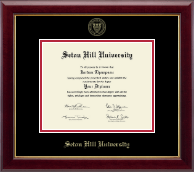 Seton Hill University Diploma Frame - Gold Embossed Diploma Frame in Gallery