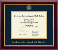 Southern University and A&M College Diploma Frame - Gold Embossed Diploma Frame in Gallery