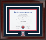 The University of Arizona Diploma Frame - Spirit Medallion Diploma Frame in Encore