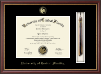 University of Central Florida Diploma Frame - Tassel Edition Diploma Frame in Newport