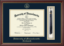 University of Massachusetts Dartmouth Diploma Frame - Tassel Edition Diploma Frame in Newport