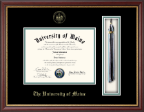 The University of Maine Orono Diploma Frame - Tassel Edition Diploma Frame in Newport