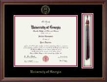 The University of Georgia Diploma Frame - Tassel Edition Diploma Frame in Newport