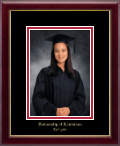 University of Louisiana Lafayette Photo Frame - Embossed Photo Frame in Galleria