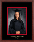University of Louisiana Lafayette Photo Frame - Embossed Photo Frame in Signet
