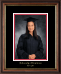 University of Louisiana Lafayette Photo Frame - Embossed Photo Frame in Williamsburg