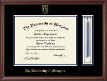 The University of Memphis Diploma Frame - Tassel Edition Diploma Frame in Newport