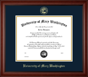 University of Mary Washington Diploma Frame - Gold Embossed Diploma Frame in Cambridge