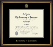 The University of Tennessee Knoxville Diploma Frame - Gold Embossed Diploma Frame in Regency Gold