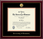 The University of Tennessee Knoxville Diploma Frame - 23K Medallion Diploma Frame in Gallery
