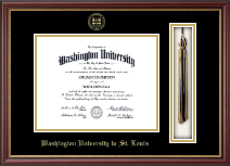 Washington University in St. Louis Diploma Frame - Tassel Edition Diploma Frame in Newport