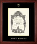 United States Military Academy Diploma Frame - Gold Embossed Diploma Frame in Cambridge