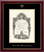 United States Military Academy Diploma Frame - Gold Embossed Diploma Frame in Gallery