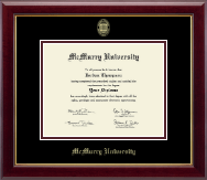 McMurry University Diploma Frame - Gold Embossed Diploma Frame in Gallery