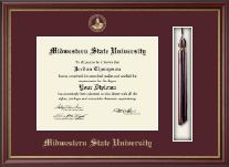Midwestern State University Diploma Frame - Tassel Edition Diploma Frame in Newport