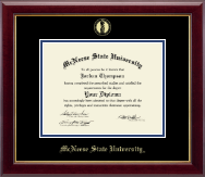 McNeese State University Diploma Frame - Gold Embossed Diploma Frame in Gallery