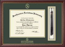 Southeastern Louisiana University Diploma Frame - Tassel Edition Diploma Frame in Newport