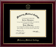 Meharry Medical College Diploma Frame - Gold Embossed Diploma Frame in Gallery