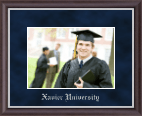 Xavier University Photo Frame - Embossed Photo Frame in Devon