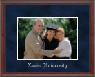 Xavier University Photo Frame - Embossed Photo Frame in Signet