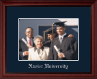 Xavier University Photo Frame - Embossed Photo Frame in Camby