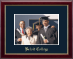 Beloit College Photo Frame - Embossed Photo Frame in Galleria