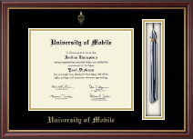 University of Mobile Diploma Frame - Tassel Edition Diploma Frame in Newport