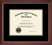 The United States Court of Appeals Certificate Frame - Certificate Frame in Kensington Gold