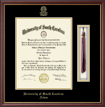 University of South Carolina Aiken Diploma Frame - Tassel Diploma Frame in Newport