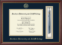 Southern University and A&M College Diploma Frame - Tassel Diploma Frame in Newport