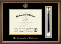 The University of Oklahoma Diploma Frame - Tassel Edition Diploma Frame in Newport