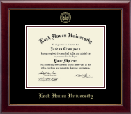 Lock Haven University Diploma Frame - Embossed Diploma Frame in Gallery