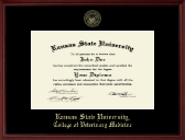 Kansas State University Diploma Frame - Gold Embossed Diploma Frame in Camby