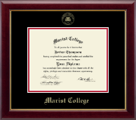 Marist College Diploma Frame - Gold Embossed Diploma Frame in Gallery
