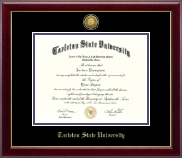 Tarleton State University Diploma Frame - Gold Engraved Medallion Diploma Frame in Gallery