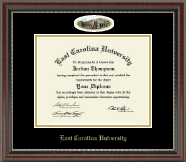 East Carolina University Diploma Frame - Campus Cameo Diploma Frame in Chateau