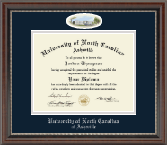 University of North Carolina Asheville Diploma Frame - Campus Cameo Diploma Frame in Chateau