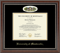 University of Montevallo Diploma Frame - Campus Cameo Diploma Frame in Chateau