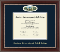Southern University and A&M College Diploma Frame - Campus Cameo Diploma Frame in Chateau